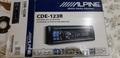 """MP3 auto Alpine CDE-123R, subwoofer Alpine10""""(25cm)"""